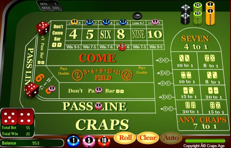 Craps Strategy 24bettle - 978087