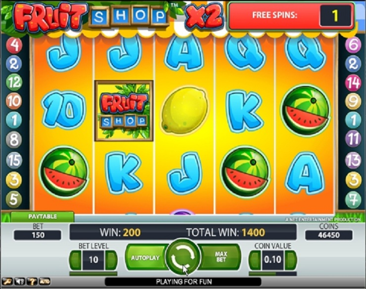 Fruit Shop Slot - 521550