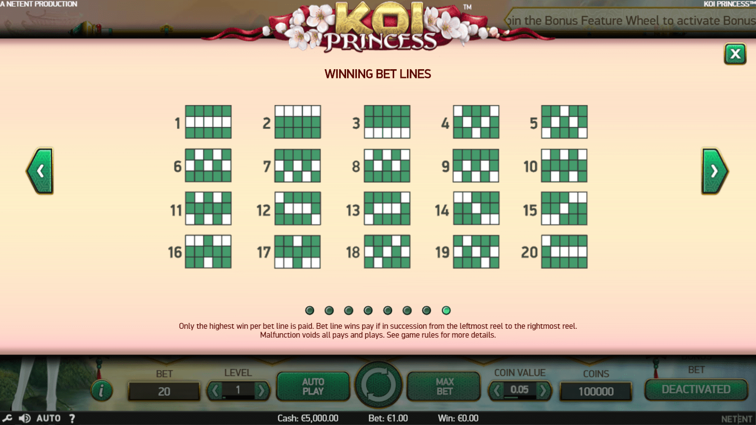 Koi Princess Slot - 128291